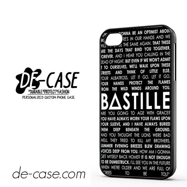 Bastille For Iphone 4 Iphone 4S Case Phone Case Gift Present