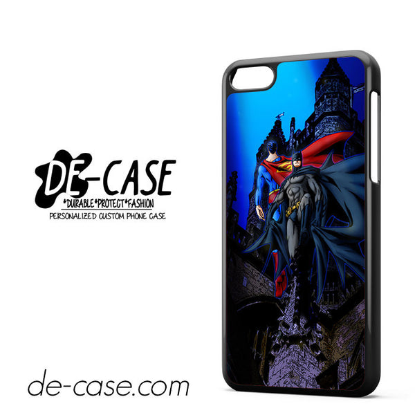 Batman And Superman For Iphone 5C Case Phone Case Gift Present
