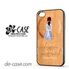 Beauty And The Beast Quote For Iphone 4 Iphone 4S Case Phone Case Gift Present
