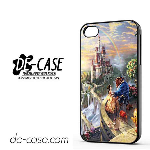 Beauty And The Beast Thomas Kinkade For Iphone 4 Iphone 4S Case Phone Case Gift Present