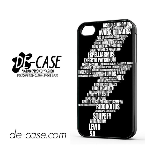 Bolt Harry Potter Spell For Iphone 4 Iphone 4S Case Phone Case Gift Present