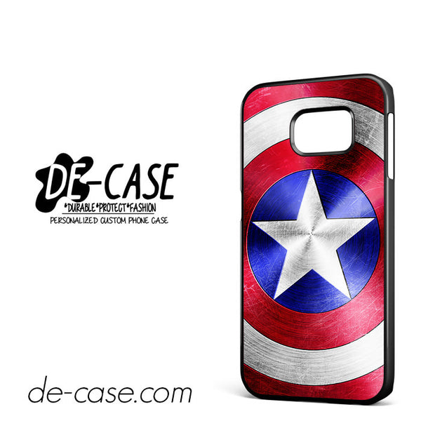 Captain America Shield For Samsung Galaxy S6 Edge Case