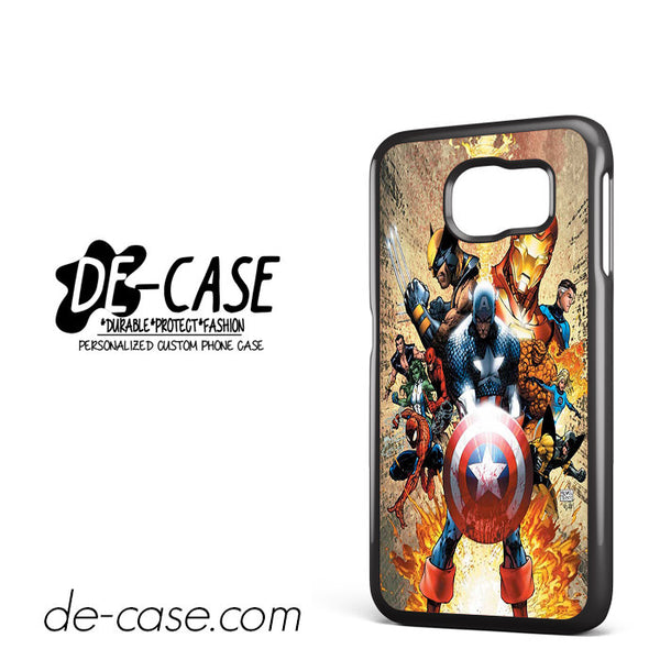 Captain America For Samsung Galaxy S6 Case