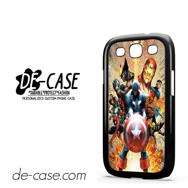 Captain America For Samsung Galaxy S3 Case
