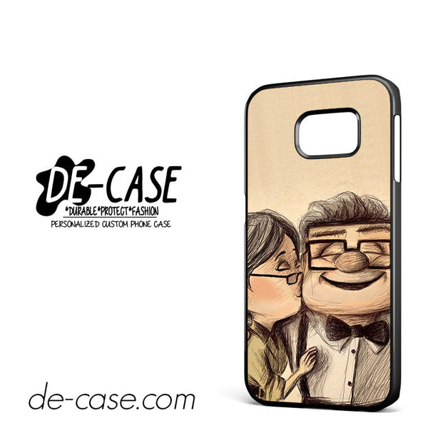 Carl and Ellie From UP Cartoon Movie For Samsung Galaxy S6 Edge Case