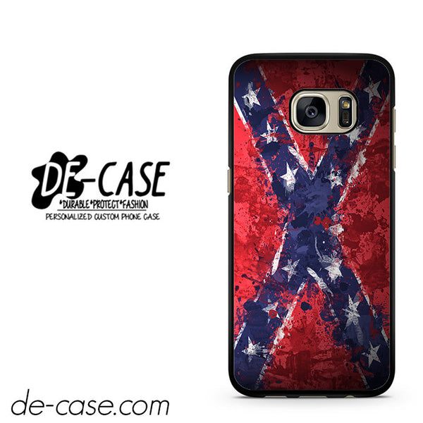 Confederate Rebel Flag Painting DEAL-2815 Samsung Phonecase Cover For Samsung Galaxy S7 / S7 Edge
