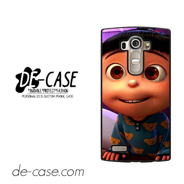 Cute Despicable Me Agnes For LG G4 Case Phone Case Gift Present
