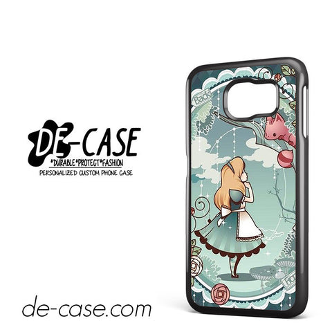 Disney Alice In Wonderland Wallpaper For Samsung Galaxy S6 Samsung Galaxy S6 Edge Samsung Galaxy S6 Edge Plus Case Phone Case Gift Present