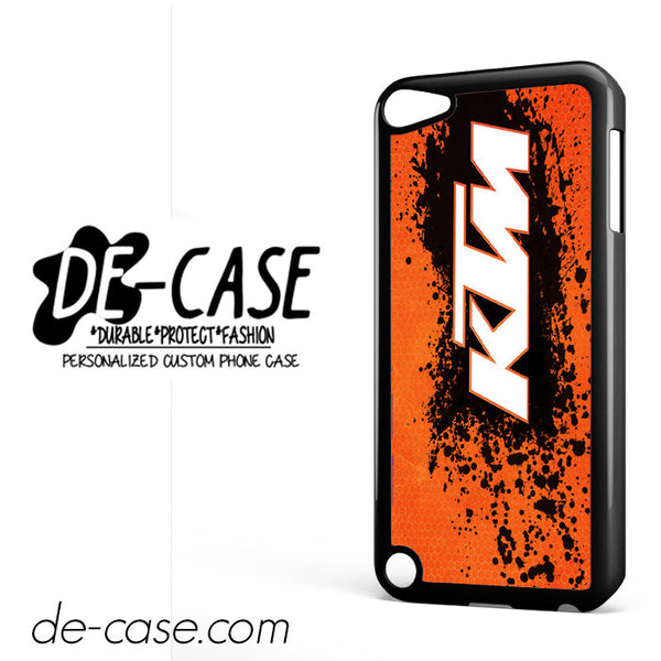 Ktm Logo DEAL-6235 Apple Phonecase Cover For Ipod Touch 5
