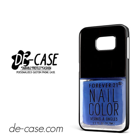 Forever 21 Blue For Samsung Galaxy S6 Edge Case