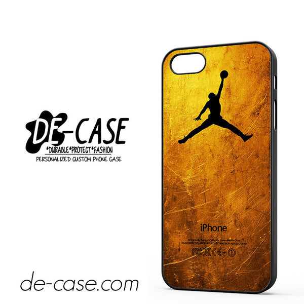 Gold Jordan For Iphone 5/5S Case