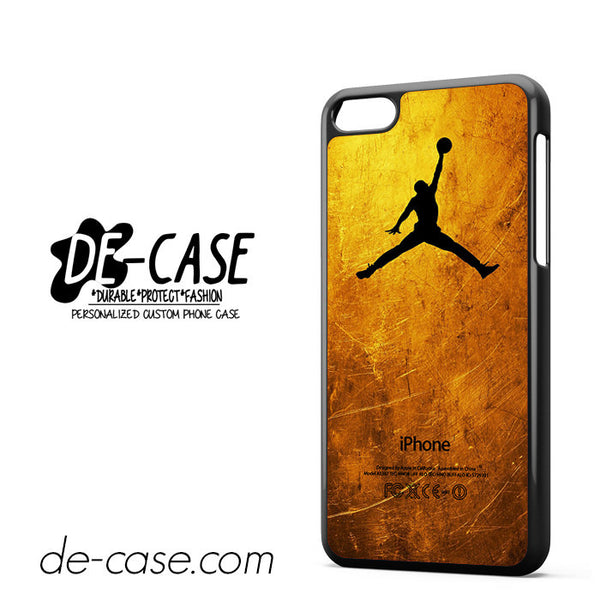Gold Jordan For Iphone 5C Case