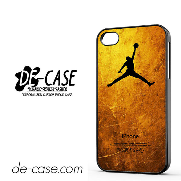 Gold Jordan For Iphone 4/4S Case