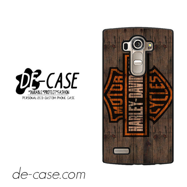Harley Davidson Motor Cycles Wood Logo For LG G4 Case Phone Case Gift Present
