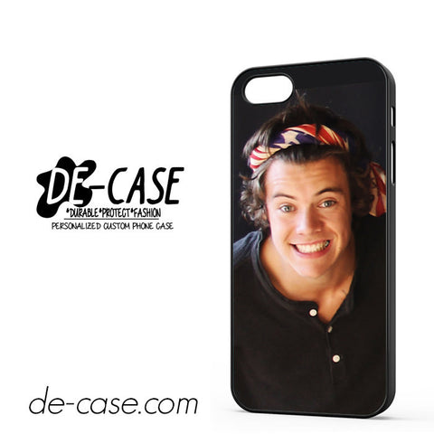 Harry Styles One Direction Bandana For Iphone 5 Iphone 5S Case Phone Case Gift Present