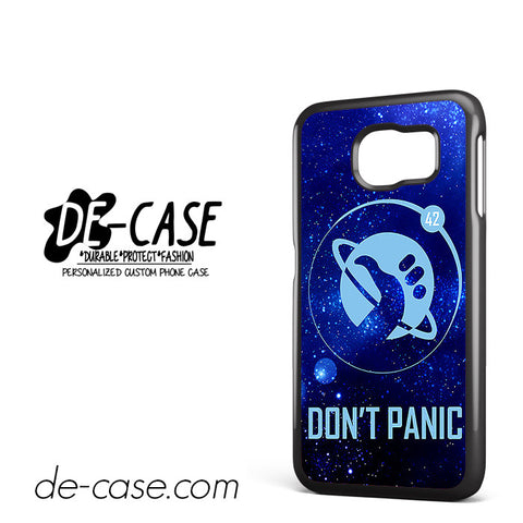 Hitchhiker's Guide To The Galaxy Don't Panic For Samsung Galaxy S6 Samsung Galaxy S6 Edge Samsung Galaxy S6 Edge Plus Case Phone Case Gift Present