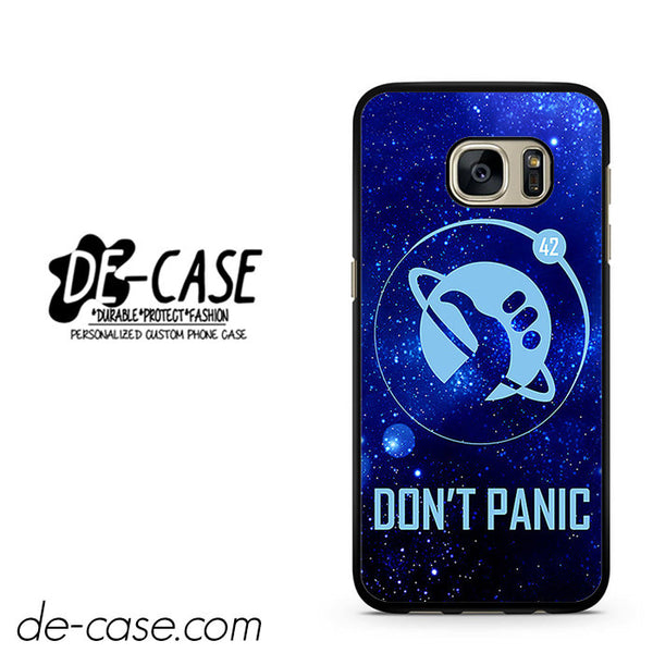 Hitchhiker's Guide To The Galaxy Don't Panic DEAL-5296 Samsung Phonecase Cover For Samsung Galaxy S7 / S7 Edge