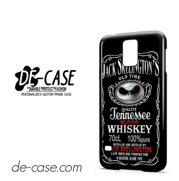 Jack Skellington Blood Whiskey For Samsung Galaxy S5 Case
