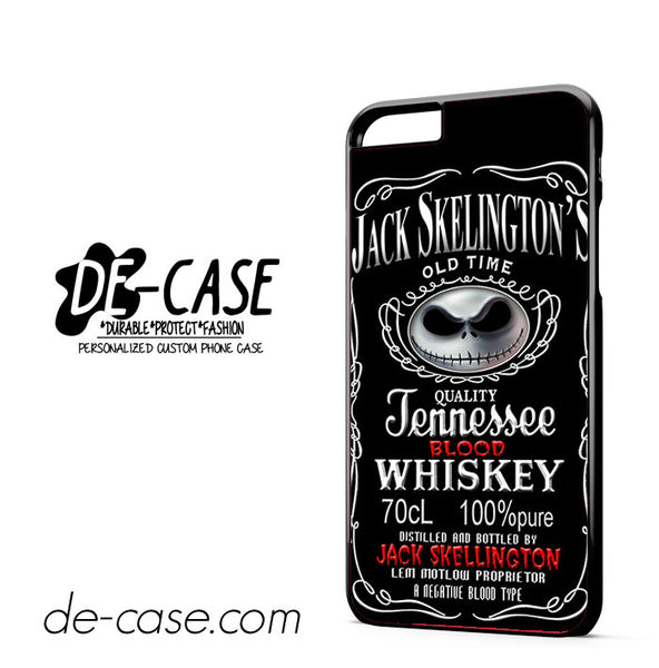 Jack Skellington Blood Whiskey For Iphone 6 Plus Case