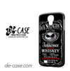 Jack Skellington Blood Whiskey For Samsung Galaxy S4 Case