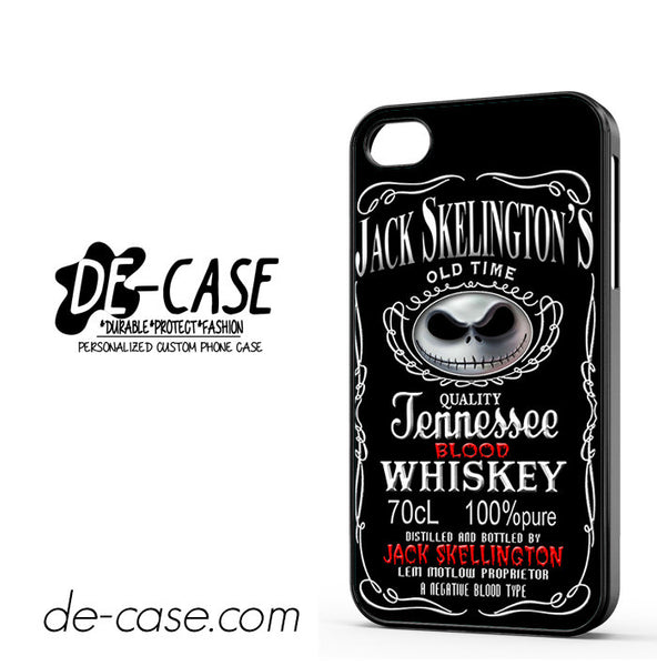 Jack Skellington Blood Whiskey For Iphone 4/4S Case