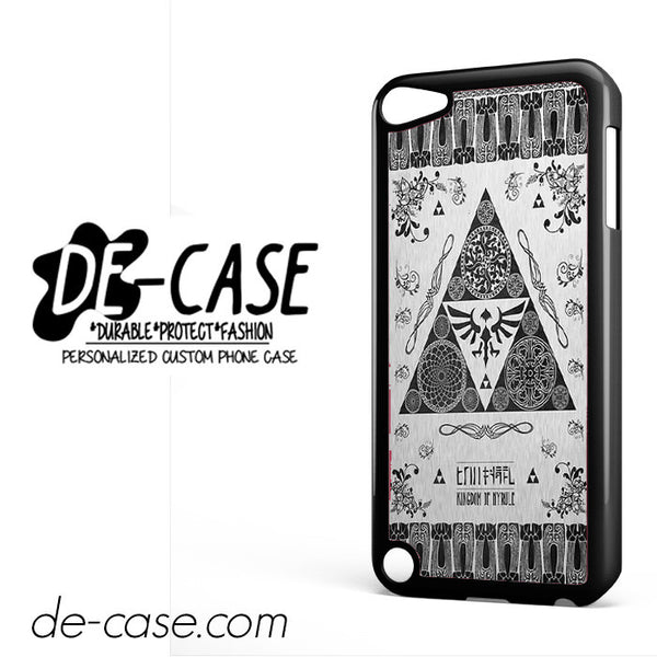 Kingdom Of Hyrule For Ipod 5 Case Phone Case Gift Present