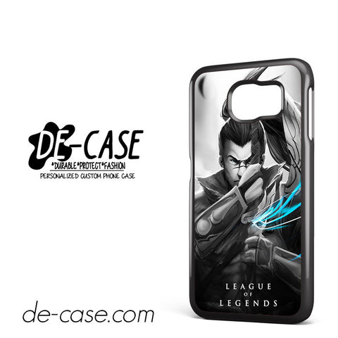 League Of Legends Yasuo For Samsung Galaxy S6 Samsung Galaxy S6 Edge Samsung Galaxy S6 Edge Plus Case Phone Case Gift Present YO
