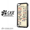 Library Due Date For Ipod 5 Case Phone Case Gift Present