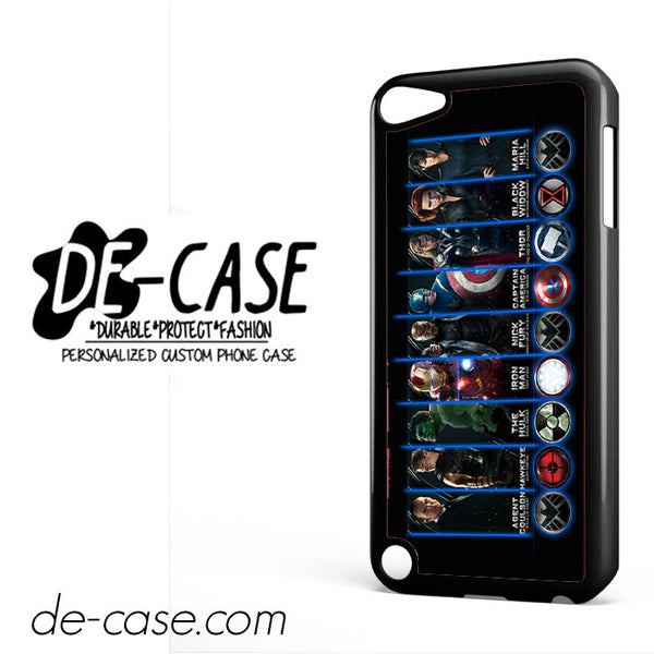 Marvel The Avengers Power Of Superheroes For Ipod 5 Case Phone Case Gift Present
