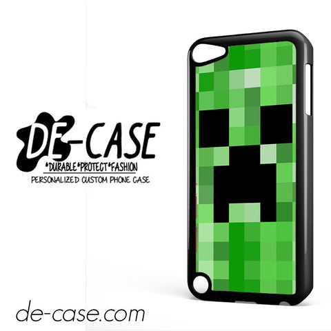 Minecraft Creeper For Ipod 5 Ipod Touch 5 Case Phone Case Gift Present YO