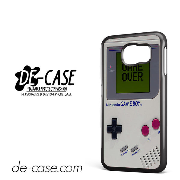 Nintendo Vintage Game Over For Samsung Galaxy S6 Case