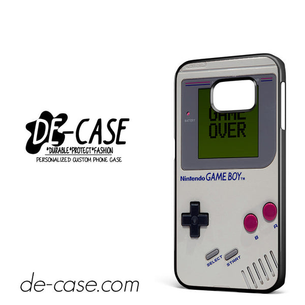 Nintendo Vintage Game Over For Samsung Galaxy S6 Edge Case