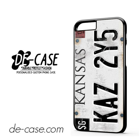 Personalized Vintage Supernatural License Plate Number For Iphone 6 Iphone 6S Iphone 6 Plus Iphone 6S Plus Case Phone Case Gift Present YO