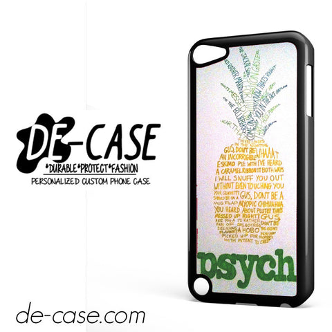 Psych Pineapple Detective Agency DEAL-8958 Apple Phonecase Cover For Ipod Touch 5