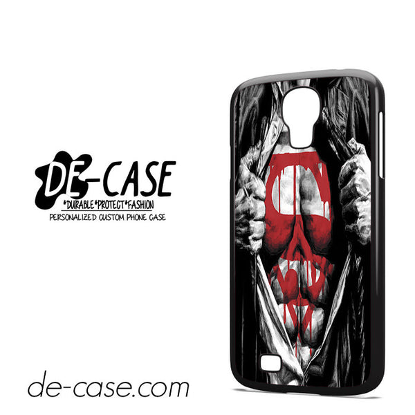 Superman Blood Open Cloth For Samsung Galaxy S4 Case