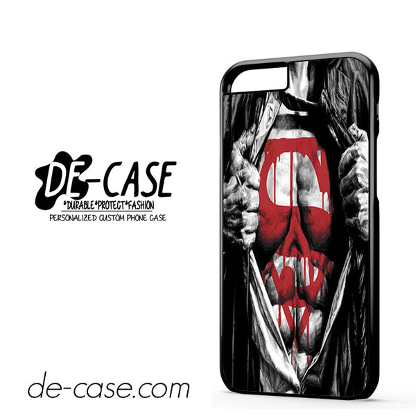 Superman Blood Open Cloth For Iphone 6 Case