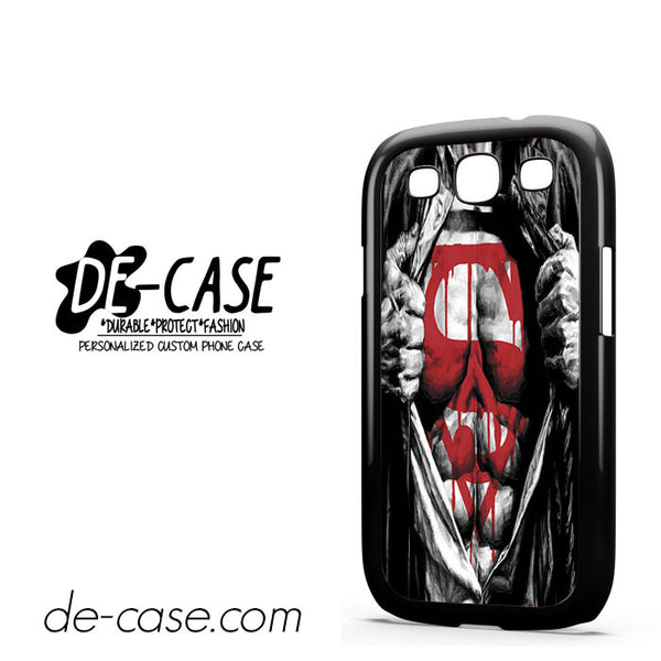 Superman Blood Open Cloth For Samsung Galaxy S3 Case