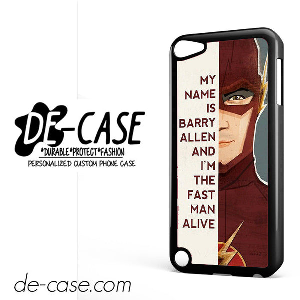 The Flash Quotes DEAL-10746 Apple Phonecase Cover For Ipod Touch 5