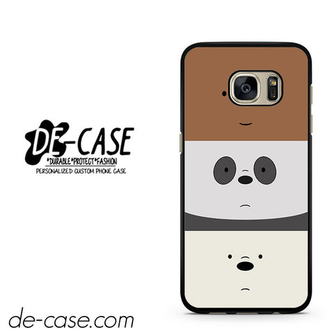 We Bare Bears DEAL-11852 Samsung Phonecase Cover For Samsung Galaxy S7 / S7 Edge