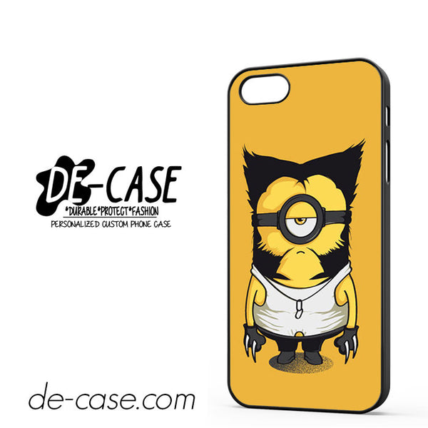 Wolverine Despicable Me Minion For Iphone 5/5S Case