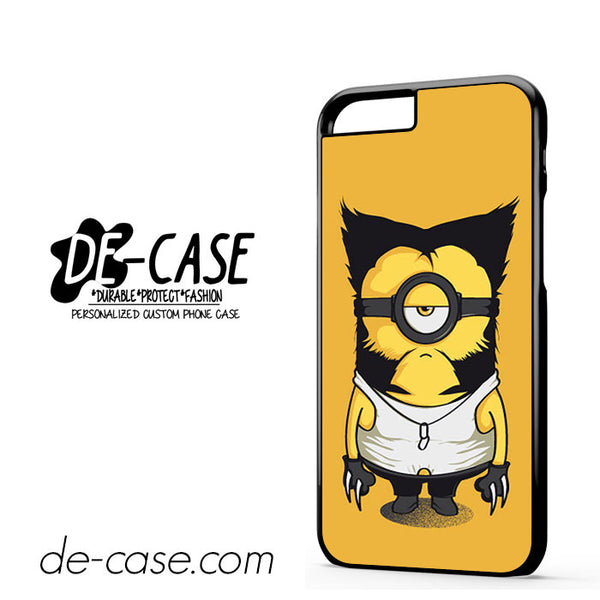Wolverine Despicable Me Minion For Iphone 6 Case