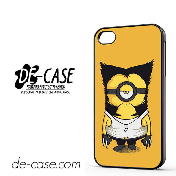 Wolverine Despicable Me Minion For Iphone 4/4S Case