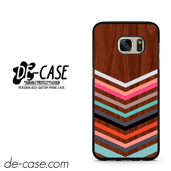 Wood Chevron DEAL-12033 Samsung Phonecase Cover For Samsung Galaxy S7 / S7 Edge