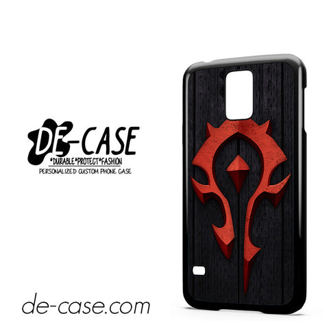 World Of Warcraft Crest Horde For Samsung Galaxy S5 Case Phone Case Gift Present