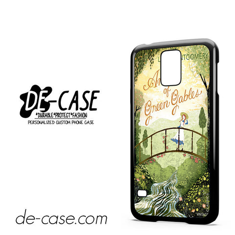 Anne Of Green Gables Vintage For Samsung Galaxy S5 Case Phone Case Gift Present YO