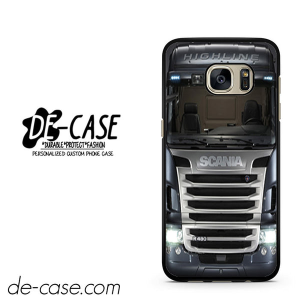 Black Scania Truck DEAL-1876 Samsung Phonecase Cover For Samsung Galaxy S7 / S7 Edge