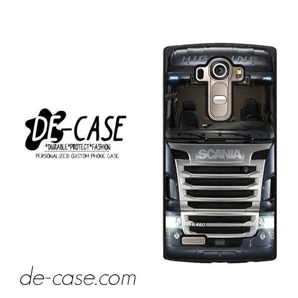 Black Scania Truck For LG G4 Case Phone Case Gift Present YO