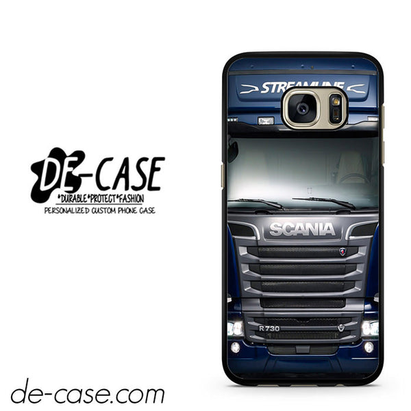 Blue Scania Truck DEAL-1952 Samsung Phonecase Cover For Samsung Galaxy S7 / S7 Edge