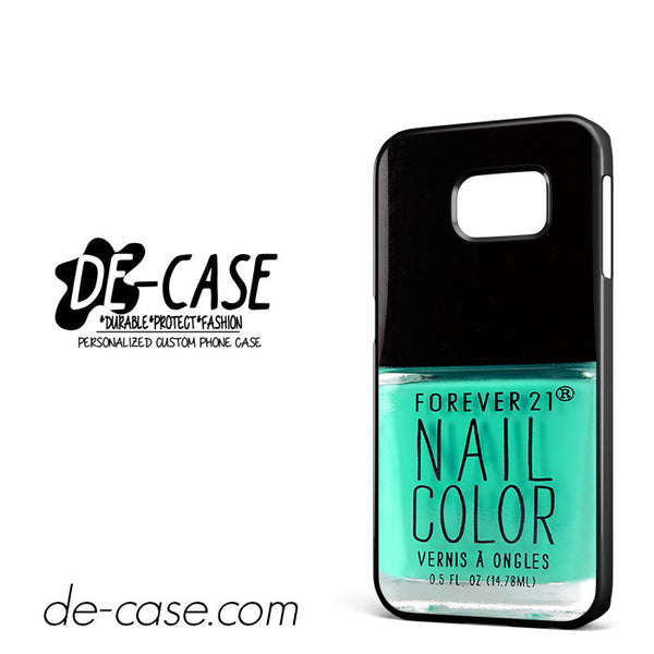 forever 21 blue teal For Samsung Galaxy S6 Edge Case