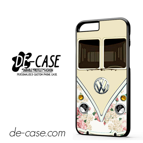 Pink Floral Vw Retro Bus For Iphone 6 Iphone 6S Iphone 6 Plus Iphone 6S Plus Case Phone Case Gift Present YO